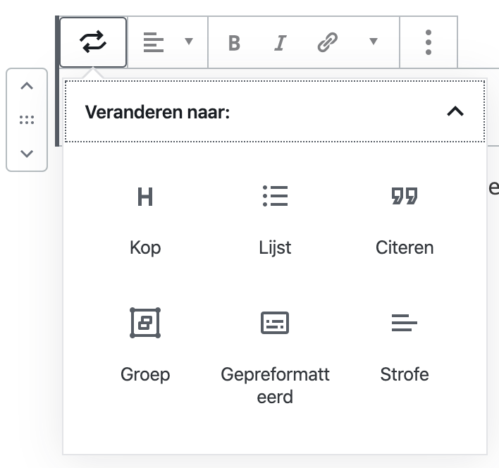 Wordpress kop maken